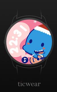 鲸鱼岛圣诞表盘