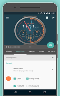 Pujie黑色表盘(Pujie Black) v3.4.27 for Android Wear