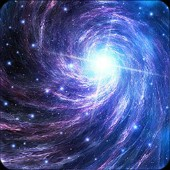 A屏动态银河系的桌面图标