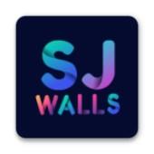 SJ WALLS壁纸的桌面图标