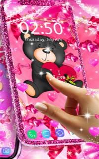 泰迪熊爱心动态壁纸下载-泰迪熊爱心动态壁纸手机免费版v13.9