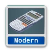 Calc Modern的桌面图标