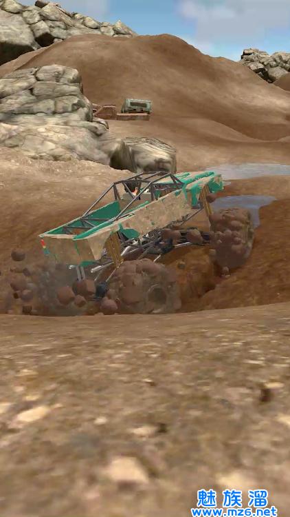 泥泞的竞速