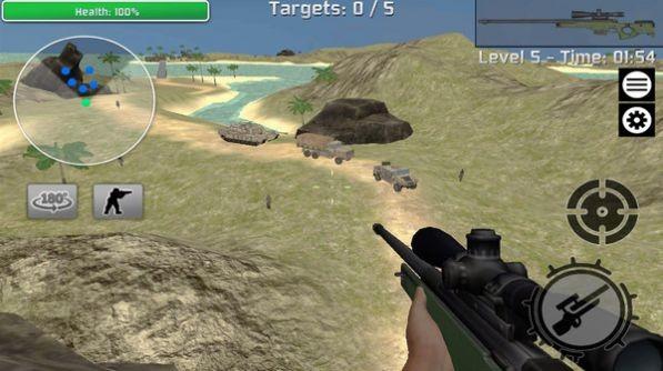 现代狙击真实模拟