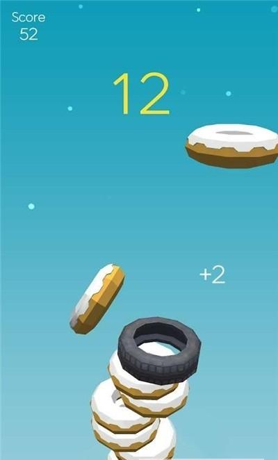 甜甜圈叠叠乐