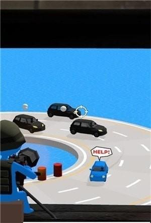 掩护小蓝车