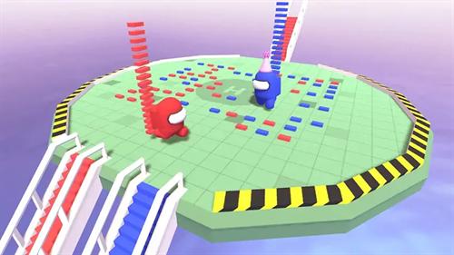 积木搭桥3D