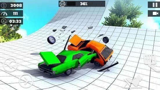 真实汽车碰撞测试